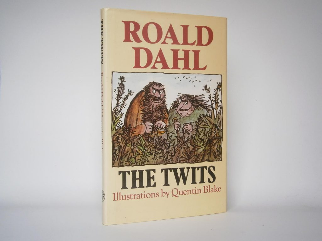 The Twits – SIGNED BY QUENTIN BLAKE TO THE TITLE PAGE.